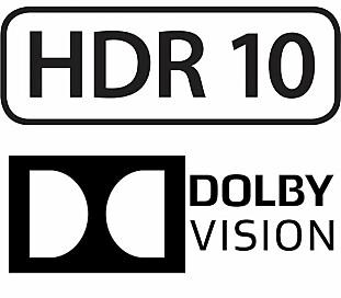 DE TO STØRSTE: HDR10 og Dolby Vision kniver om TV-titternes gunst.