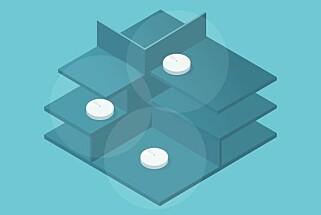 TIPS: Appen forklarer hvordan vi bør plassere nodene i vårt tre-etasjes bolig. Skjermdump: Dinside