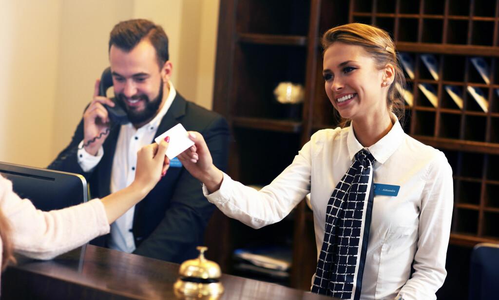 GODE JOBBMULIGHETER: Hotellbransjen er blant yrkesgruppene som ønsker å øke bemanningen den kommende tiden, ifølge en ny undersøkelse fra Manpower. Foto: Shutterstock/NTB Scanpix.