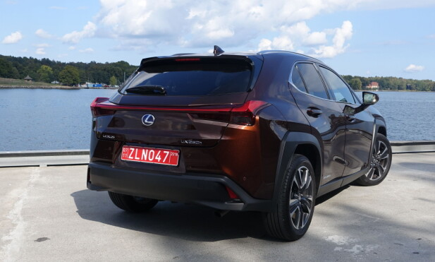 SKILLER SEG UT: Lexus har utviklet noe av det mest markante av bildesign. Modellene deres har en tydelig familielikhet seg imellom, men ligner ikke på biler fra noe annet merke. Foto: Knut Moberg