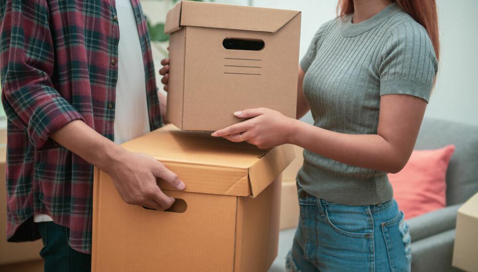 NYINNFLYTTET?: Er du medlem av for eksempel Obos får du mulighet for forkjøpsrett når du er på utkikk etter bolig, samt hjelp etter at du har flyttet inn. Foto: Shutterstock/NTB Scanpix.