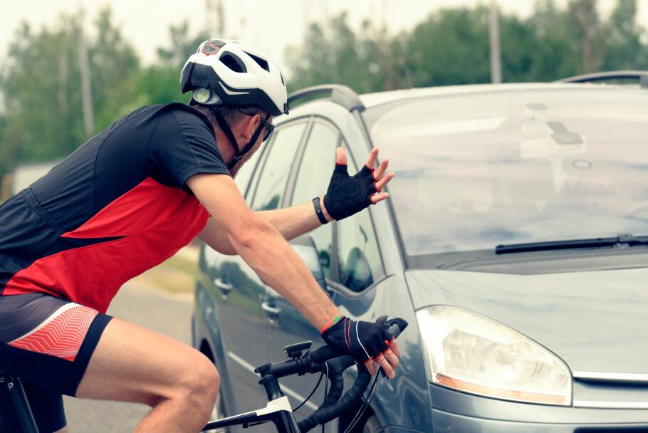 MENN I FLEST SYKKELULYKKER: Tall fra Tryg Forsikring viser at det skjer flest sykkelulykker i september måned - og menn over 35 år er de som er innblandet i flest ulykker. Foto: Shuttestock/NTB Scanpix.