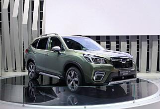 Helt ny Subaru Forester