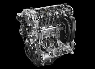 <strong>SMÅ ENDRINGER:</strong> Små forbedringer har gitt høyere toppeffekt, raskere respons og mindre friksjon. Illustrasjon: Mazda