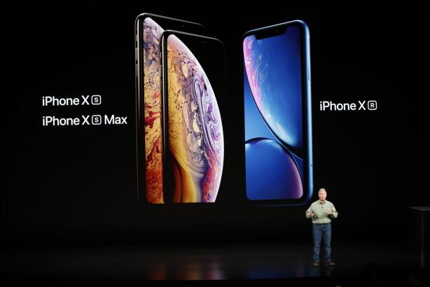 OLED OG LCD: 2018-utgavene av iPhone bruker to forskjellige skjermtyper. Foto: Stephen Lam/Reuters/NTB Scanpix