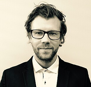 SKRYTER: PR- og informasjonssjef hos Mercedes Norge, Audun Hermansen.