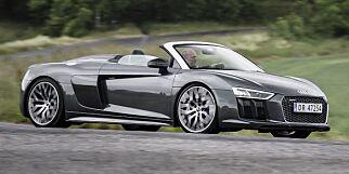 image: Test: Audi R8 Spyder