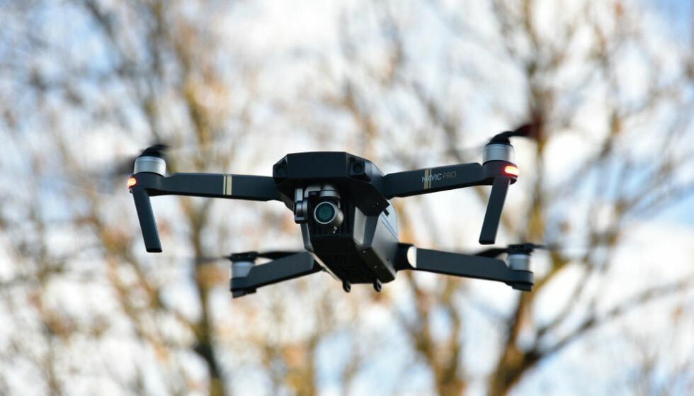 BESTE DRONE: DJI Mavic Pro er best i svensk test av droner. Foto: Pål Joakim Pollen