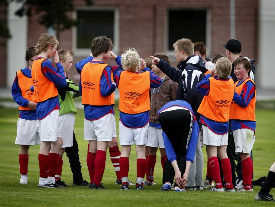 MANGE HAR IKKE RÅD: Færre barn går på fritidsaktiviteter. Foto: Gorm Kallestad/ NTB scanpix