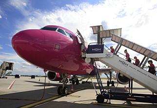 Wizz Air til Oslo Lufthavn