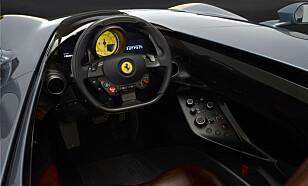 ETT ELLER TO SETER: Monza kommer i utgaver med ett eller to seter. Foto: Ferrari