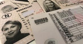 image: Hundrevis av folk fra hele landet har fått feil førerkort
