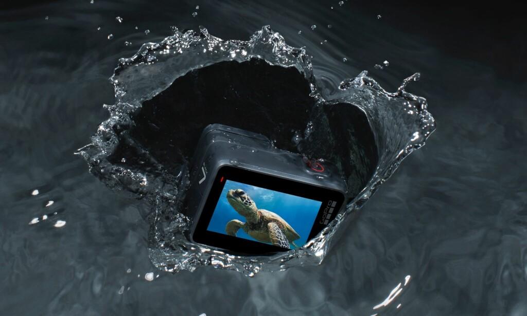 NY GENERASJON: GoPro kommer nå med tre nye kameraer i Hero7-serien. Foto: GoPro