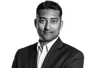 TOCN: Styreleder i TOCN, Satheesh Varadharajan. Foto: Estate Media AS