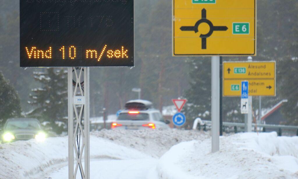image: Faremelding fra meteorologene: Advarer mot vanskelige kjøreforhold