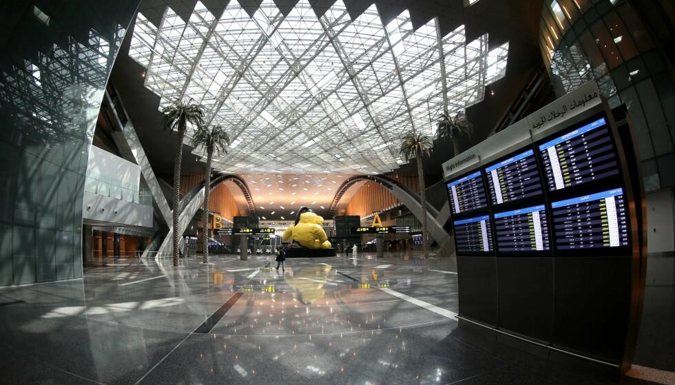 VERDENS BESTE: Hamad International airport i Doha, Qatar, er verdens beste. Foto: AFP