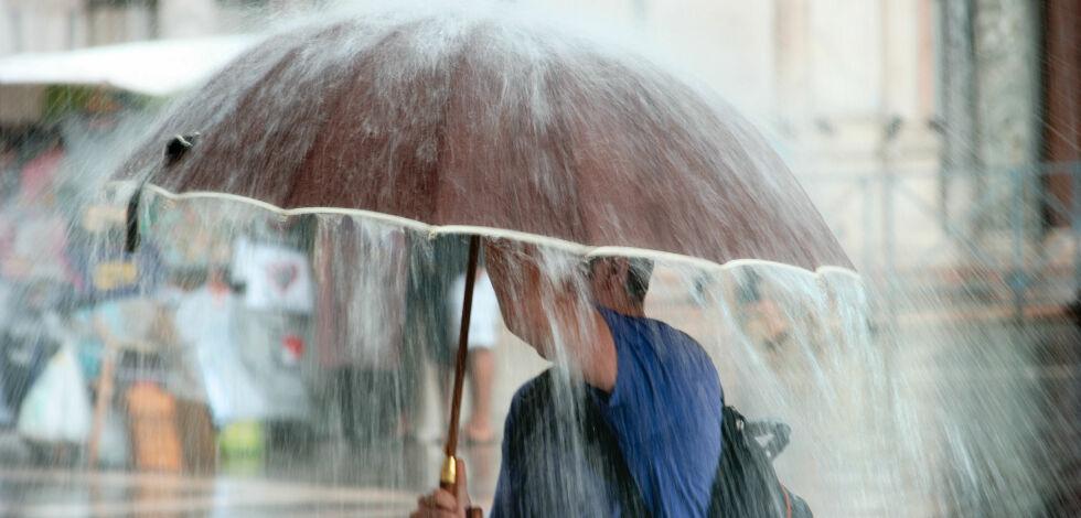 image: Slik forbereder du deg på regnværet
