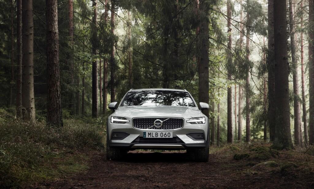 UTE: Volvo V60 var en av favorittene til å bli Car of the Year i Europa, men røyk ut allerede da finalistene ble plukket ut. Foto: Volvo