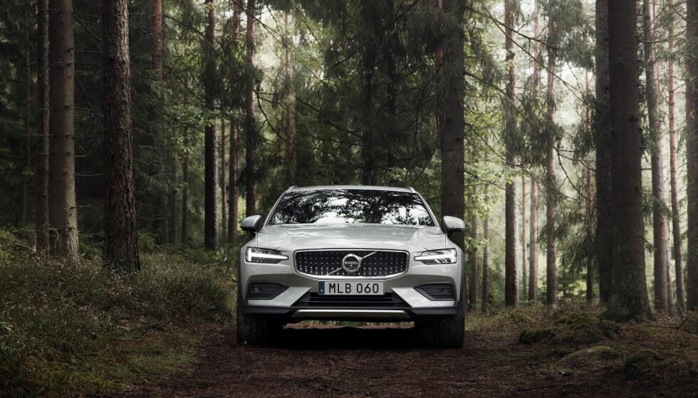 BARSK: Nye V60 CC ruver godt i terrenget. Foto: Volvo
