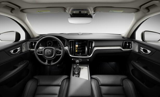 SOM SØSKNENE: Inni er den som vi kjenner de alle de siste Volvoene. Foto: Volvo