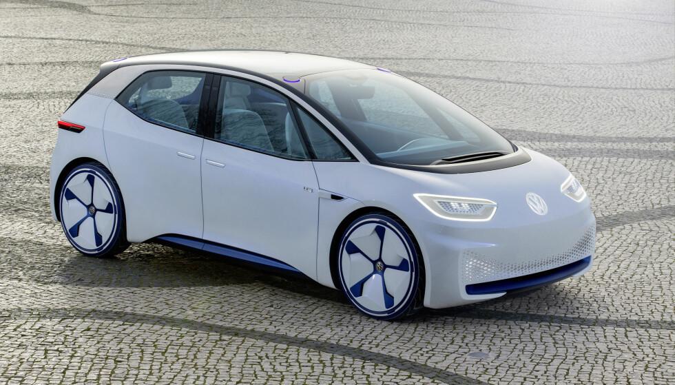 Valgfri 2- eller 4-hjulsdrift: ID Neo (bildet) kan kun fås med bakhjulsdrift, mens ID Crozz og Vizzion kan fås med firehjulsdrift. Foto: Volkswagen