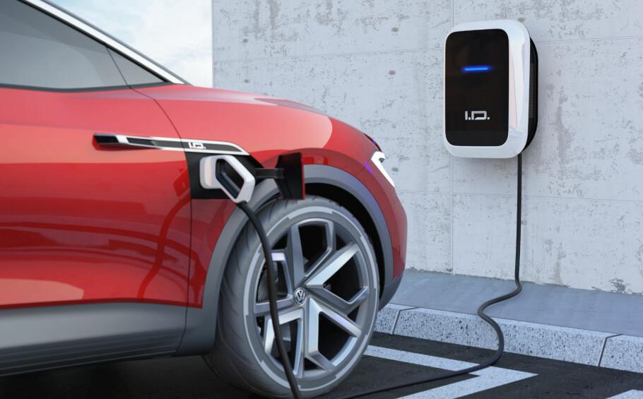 VALGFRITT: Du skal kunne velge batterikapasitet og ladehastighet selv, ifølge selskapet. Foto: Volkswagen