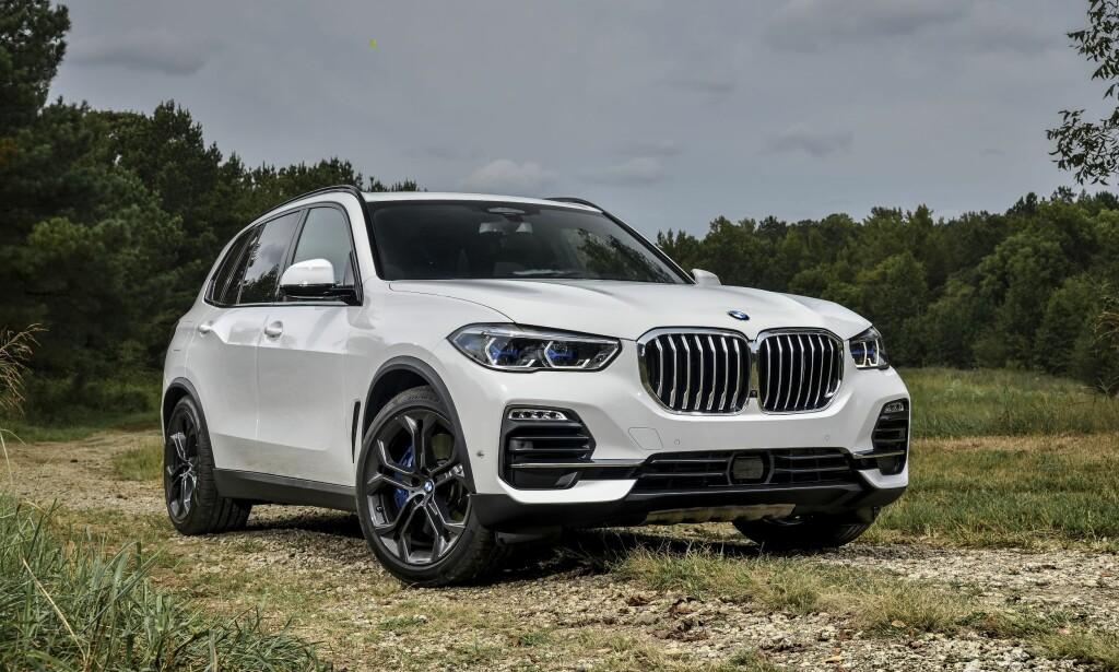 GOD BUTIKK: BMW X5 er den fjerde mest lønnsomme nybilen på markedet, ifølge Bloomberg. Foto: Uwe Fischer