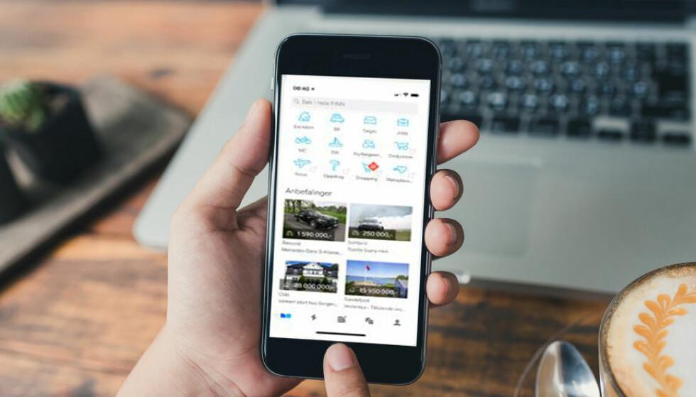 ENDRES: Fra mandag endres alle boligannonser på Finn.no. Foto: Shutterstock
