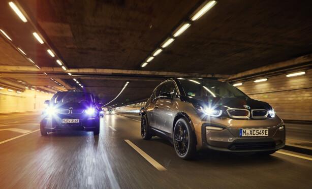 FLERE OPPGRADERINGER: Den kommer i to versjoner i3 og den mer sportsligere i3s. Foto: BMW