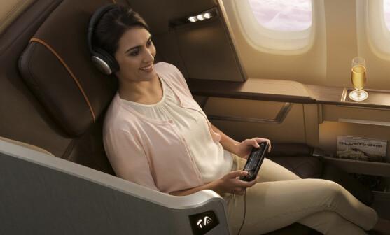 Slik får du eksklusiv lyd på flyreisen