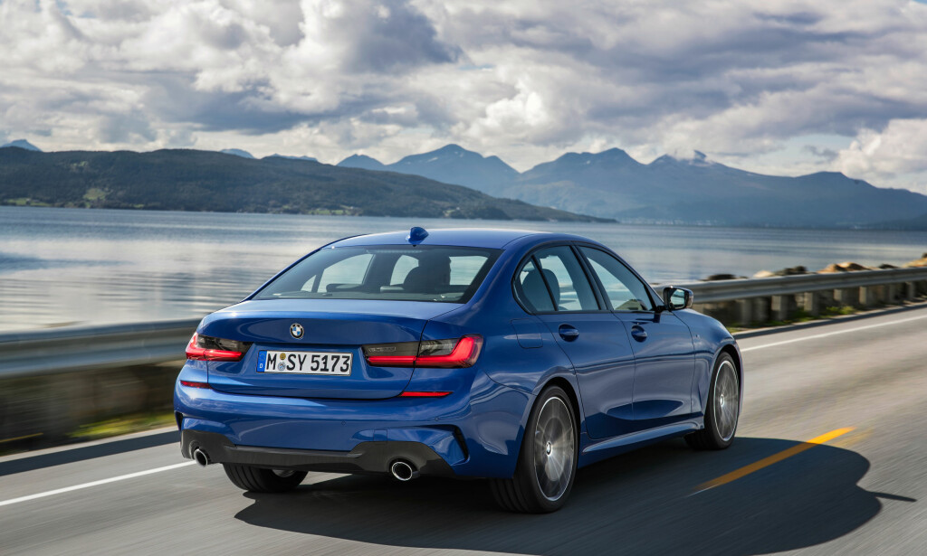 SUBTILT FORNYET: En viss endring i lyssignatur kan konstateres på nykommeren. Foto: BMW