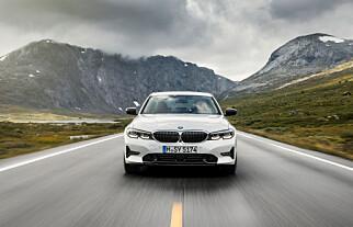 LED OG LASER: Slutt med halogen og bi-xenon: Nå er det dioder som gjelder i alle lykter. Foto: BMW
