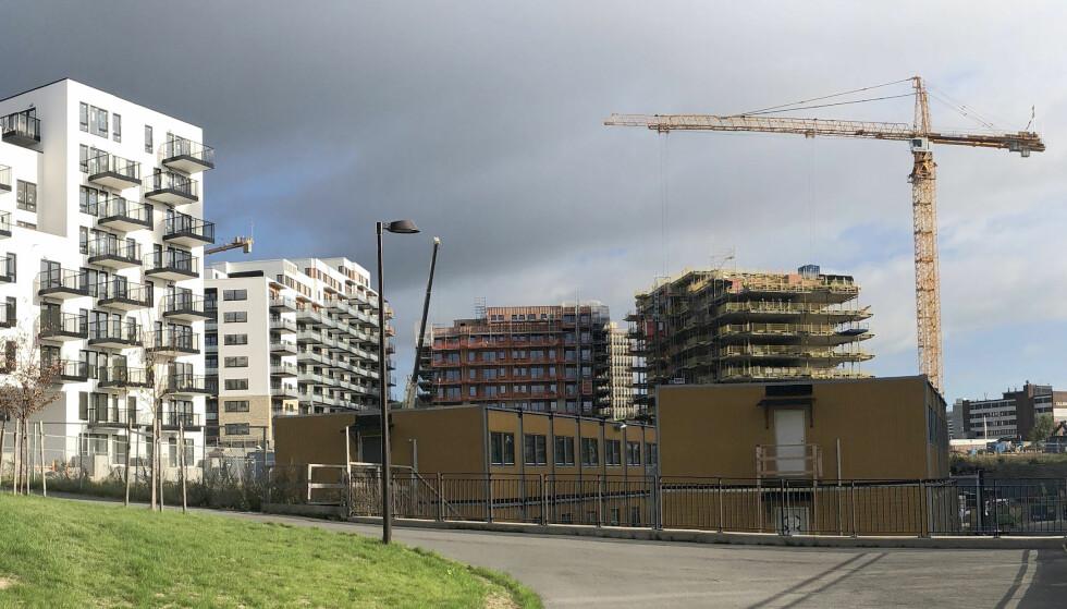 BILLIGERE LEILIGHETER: Kun i Bergen har det vært prisoppgang for borettslagsboliger i tredje kvartal. Illustrasjonsfoto: Bjørn Eirik Loftås