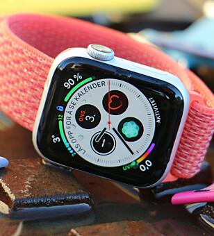 SOLID OPPGRADERING: Apple Watch har fått et skikkelig løft med Series 4-utgaven. Foto: Kirsti Østvang