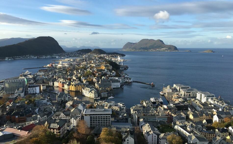 SYNKER MEST: Størst prisnedgang i september hadde Ålesund med 2,1 prosent, viser boligprisstatistikken. Foto: Bjørn Eirik Loftås