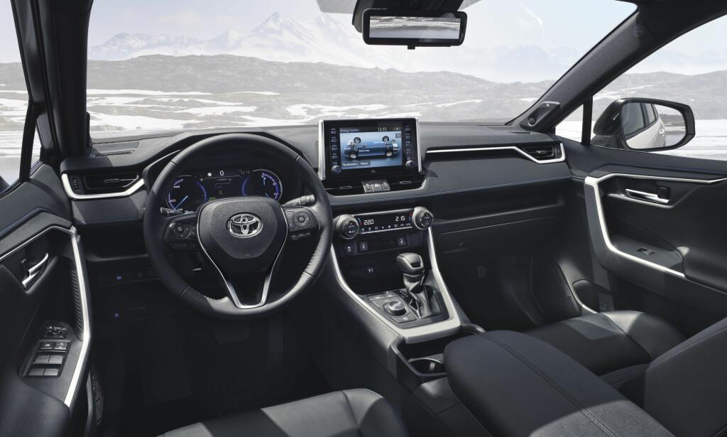 OPPGRADERT: Vår mann i Paris konstaterte høyere kvalitetsfølelse, og designen er også mer tiltalende enn på forgjengeren. Foto: Toyota