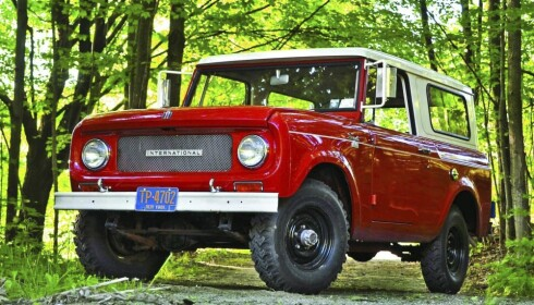 <strong>ALT 1:</strong> International Scout. Foto: Produsenten