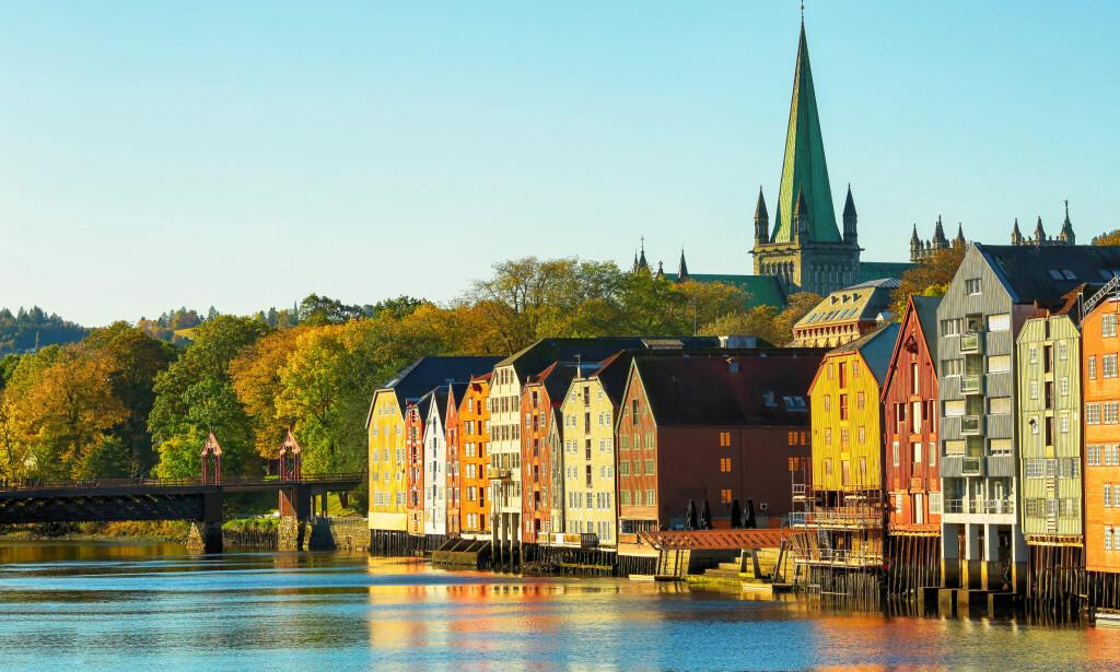 SKATTEKUTT: Trondheim er kommunen som kan få merke den foreslåtte lavere makssatsen for eiendomsskatt best. Hvis forslag til statsbudsjett for 2019 går gjennom, får de et kutt i utgiftene sine på til sammen 72,8 millioner kroner innen 2020 . Foto: Shutterstock/NTB Scanpix.