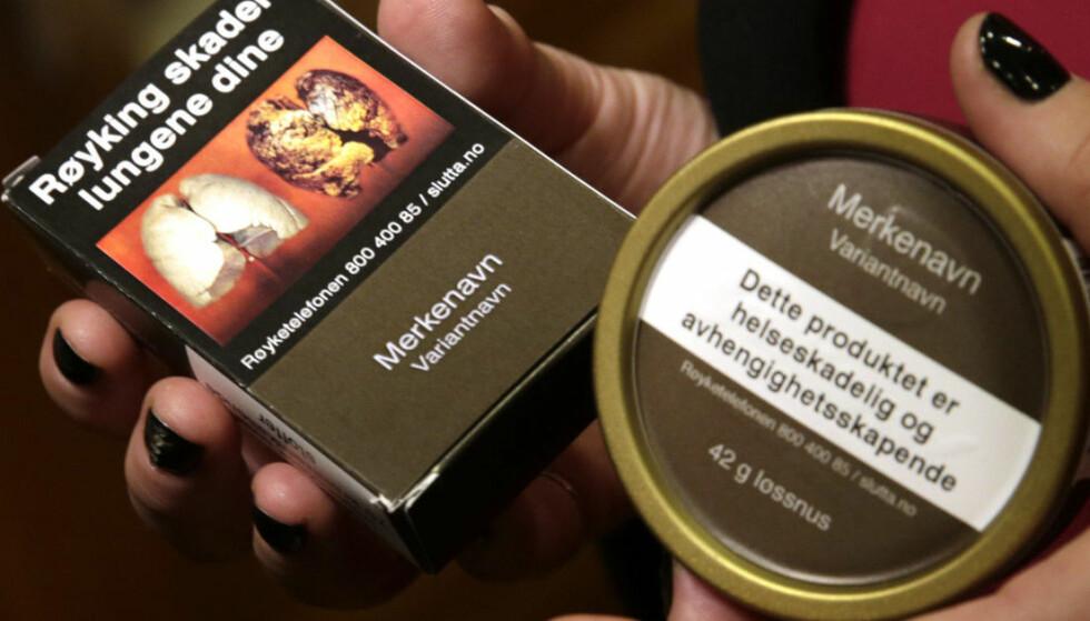 DYRERE: Så mye skal tobakksavgiftene opp fra nyttår. Foto: NTB Scanpix
