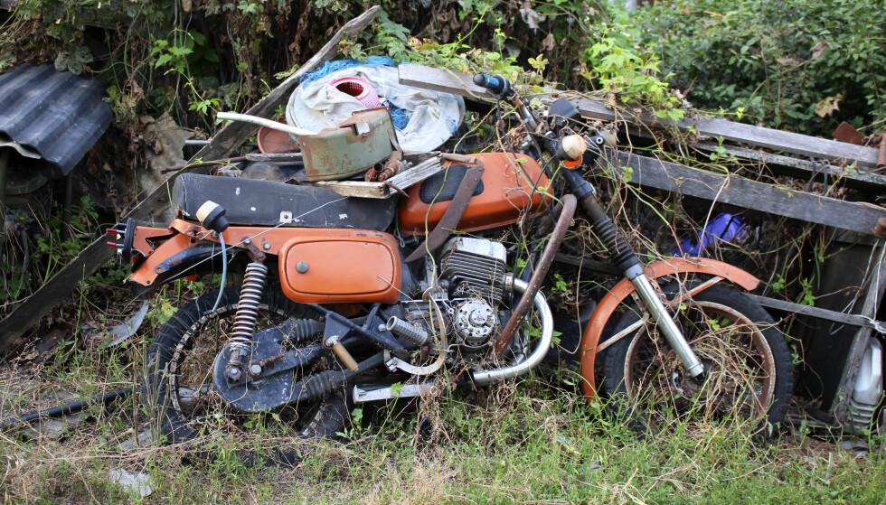 PANTEAVGIFT: Vil innføre vrakpantavgift også for mopeder og motorsykler. Dette betyr at du må betale panteavgift når du kjøper en ny moped, motorsykkel, campingvogn eller lastebil. Foto: NTB scanpix