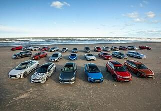 Disse bilene kan bli Årets bil i Europa