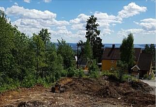 Boligutbygger fjernet nabohus, strømstolper og trær fra reklame. Nå får de bot
