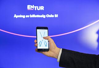 Nå kjøper du togbillettene fra Entur-automater
