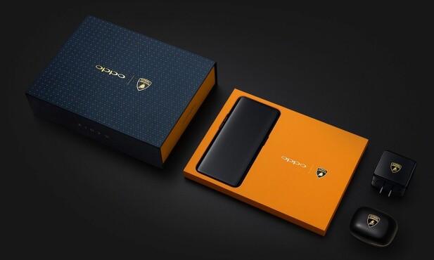 KRAFTPAKKE: I tillegg til at laderen er på 55 watt, leveres Lamborghini-utgaven av Oppo Find X med Snapdragon 845-prosessor, 8 GB RAM og 512 GB lagringsplass. Foto: Oppo