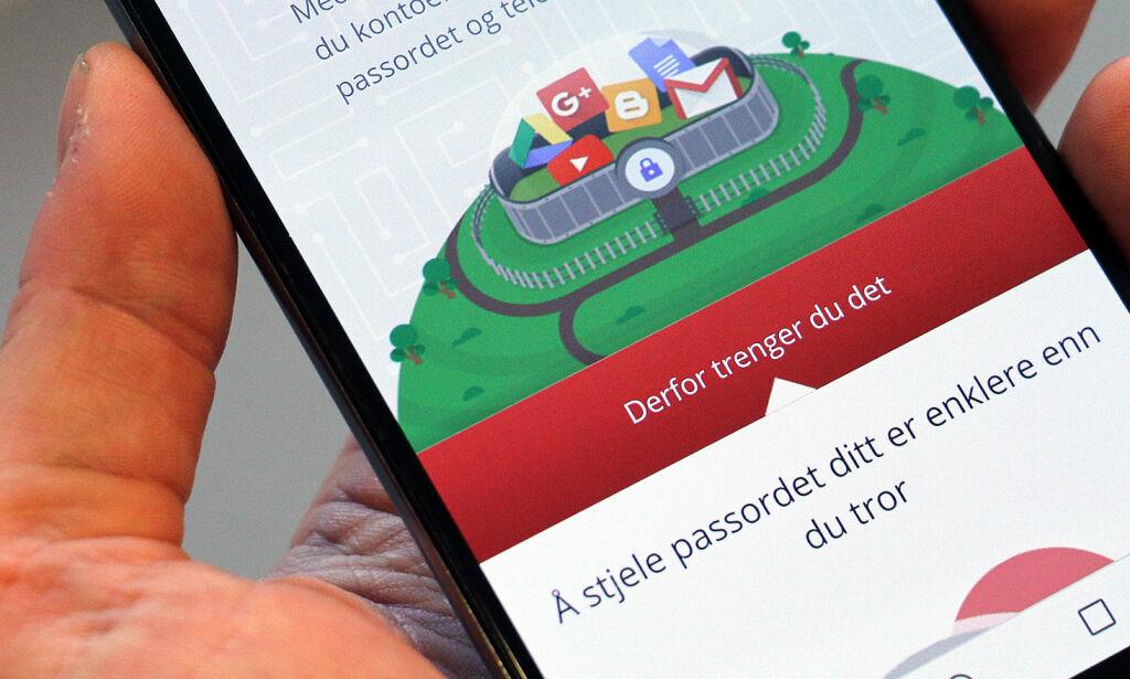 image: Å stjele passordet ditt er veldig enkelt - slik beskytter du deg