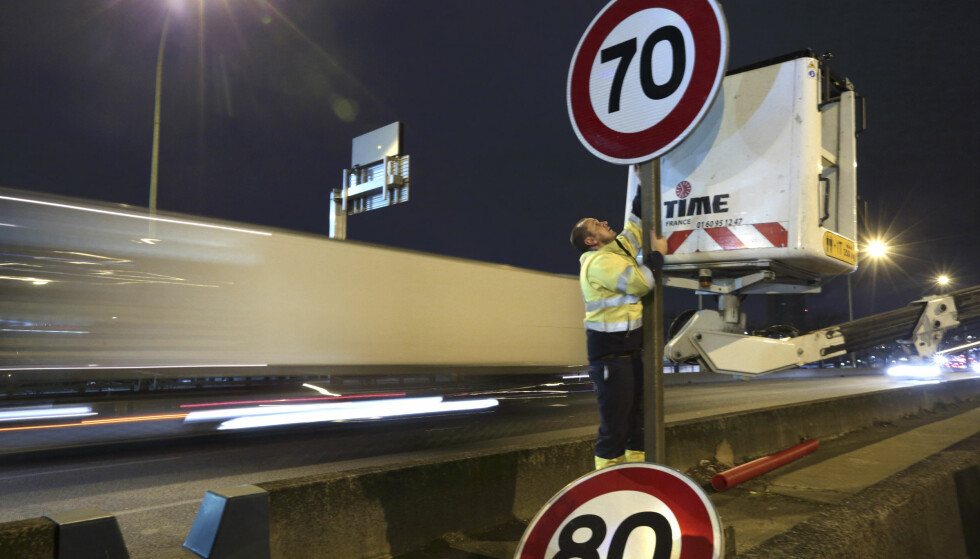 Vil sette ned fartsgrensen fra 80 til 70