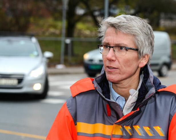 HARDT SKADDE: – Utviklingen når det gjelder hardt skadde i trafikken er ikke god nok, sier Guro Ranes, som er avdelingsdirektør med ansvar for trafikksikkerhet i Statens vegvesen. Foto: Statens vegvesen