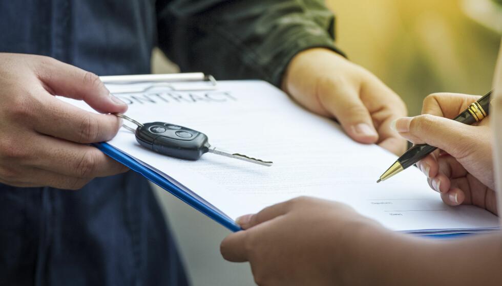 Sju ting du bør tenke på før du signerer leasing-kontrakten