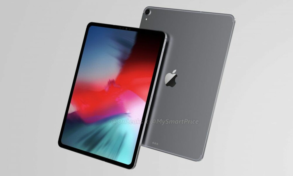 KONSEPT: Slik har MySmartPrice sett for seg at nye iPad Pro kommer til å se ut basert på lekkasjer og rykter. Foto: MySmartPrice