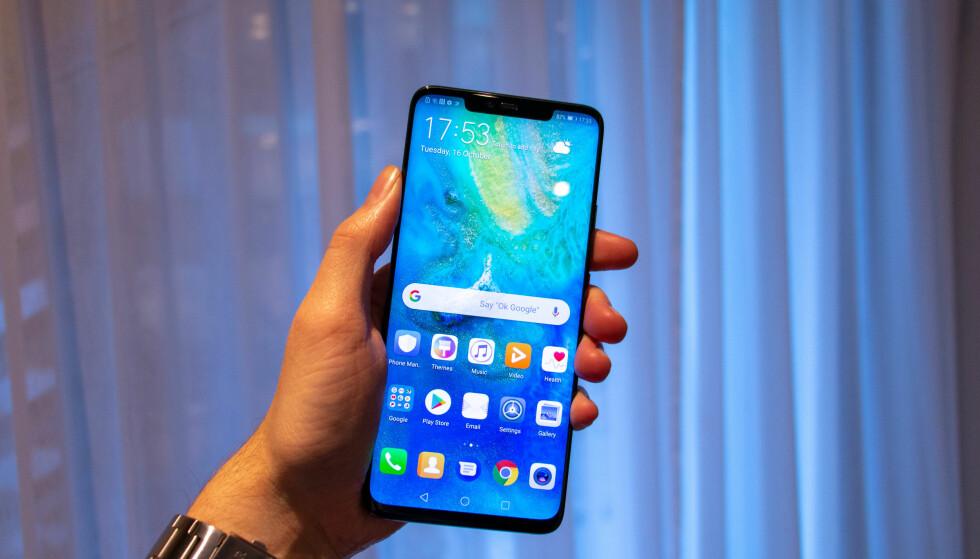 Huawei blader sammen P- og Mate-serien sammen med ny teknologi i Mate 20 Pro. Det virker lovende. Foto: Martin Kynningsrud Størbu